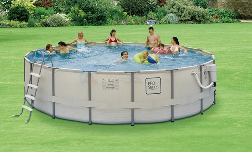 "ProSeries 18X52"" Metal Frame Pool - NB2041"