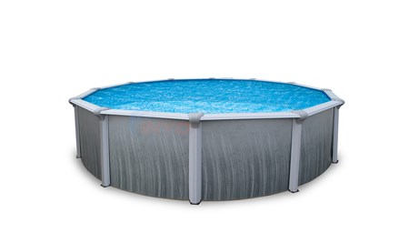 "24' Round 52"" Martinique Above Ground Pool W/ Pump, Filter, Liner & Skimmer - NB2614P"
