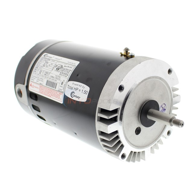 A.O. Smith 1.5 HP Round Flange 56J Up Rate Motor - B229SE