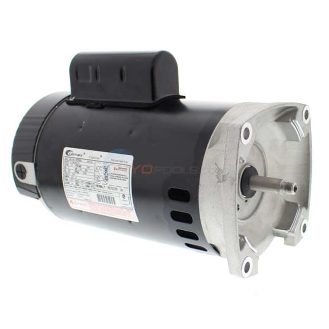 A.O. Smith Century 2.0 HP Square Flange 56Y Full Rate Motor - B2748