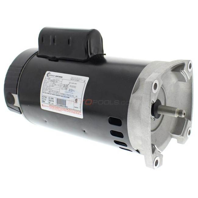 A.O. Smith 1.5 HP Square Flange 56Y Full Rate Motor - B2858