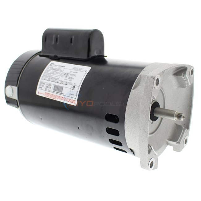 A.O. Smith 2 HP Square Flange 56Y Up Rate Motor - B2859
