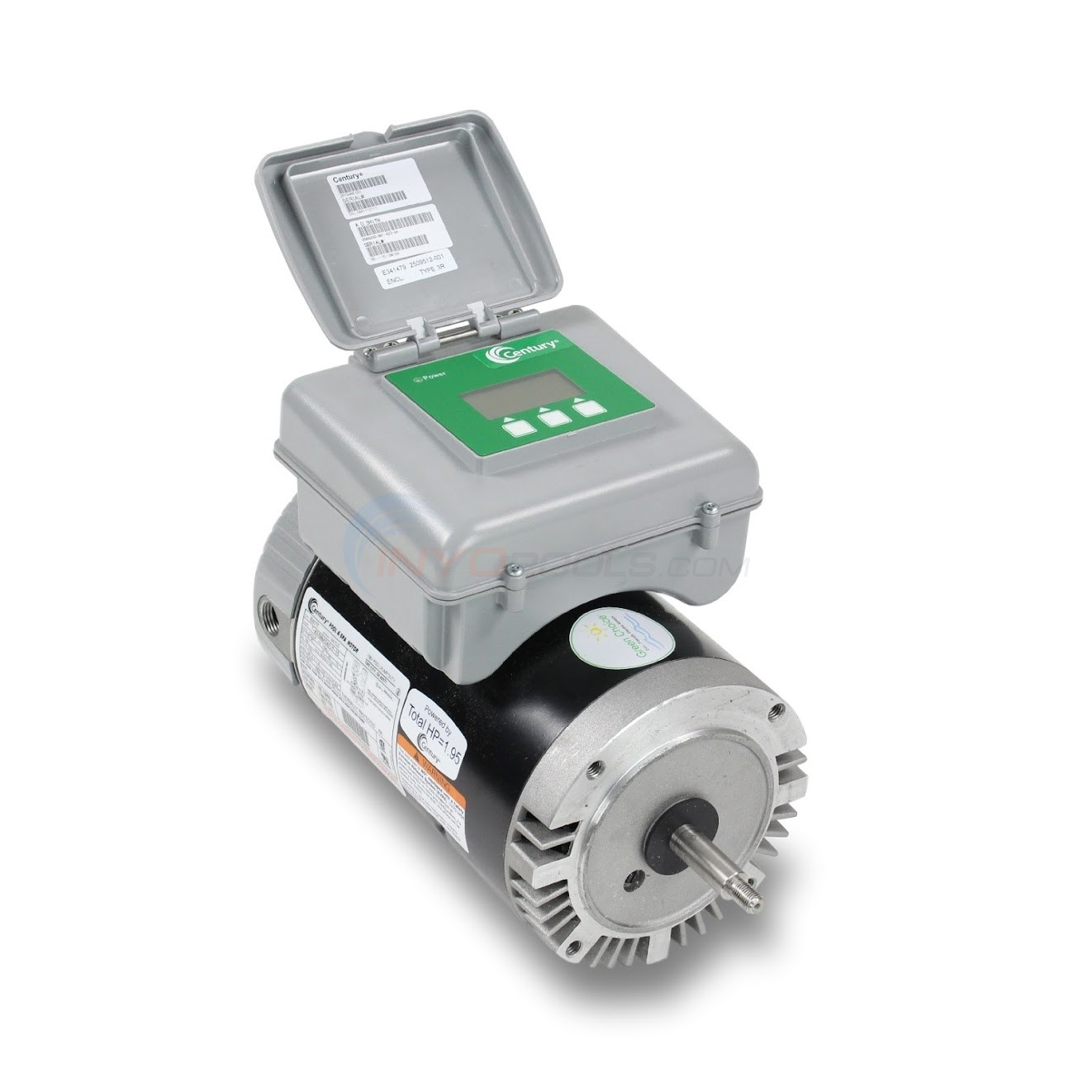 1.5 HP Full Rate Two Speed Motor W/ Timer - Round Flange (B977T, B2977T)