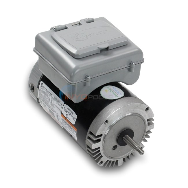 A.O. Smith Pool Motor Round Flange 1 HP Full Rate Dual Speed w/ Digital Controller - B975T