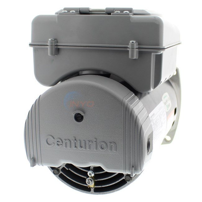 A.O. Smith Pool Motor Square Flange 3/4 HP 230V Full Rate Dual Speed w/ Digital Controller - B2980T
