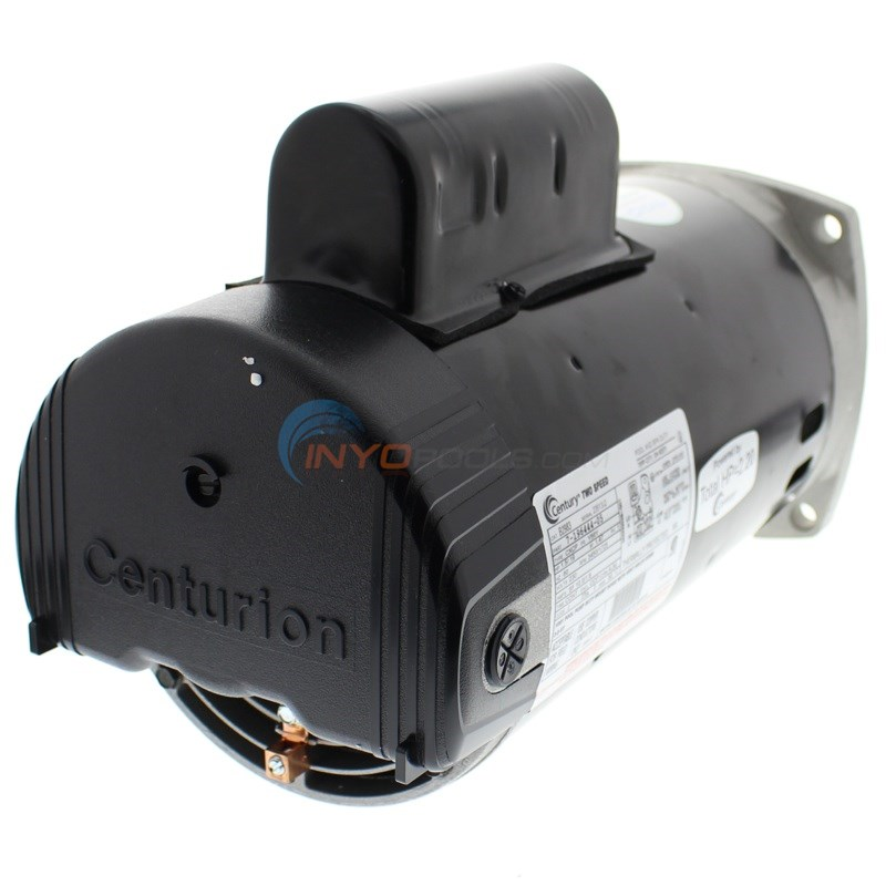 A.O. Smith 1.5 HP Square Flange 56Y Dual Speed Full Rate Motor - B2983
