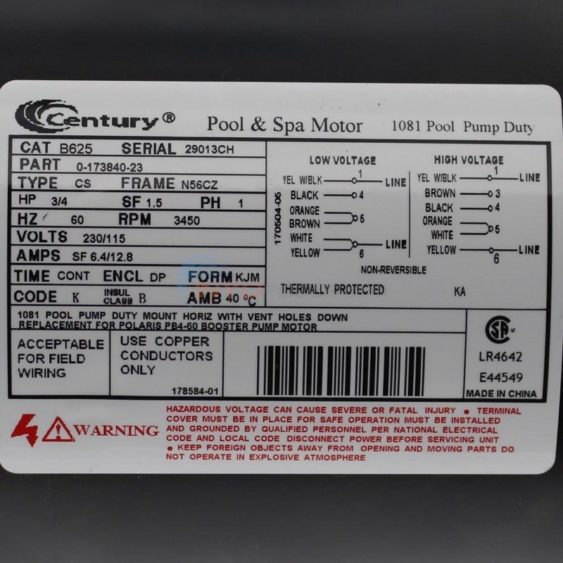 Polaris pb4 60 wiring diagram 29 wiring diagram images for Us motors 1081 pool motor