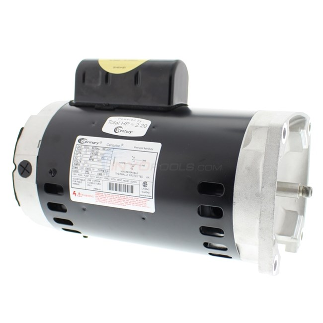 AO Smith 2 HP Square Flange 56Y Up Rate    Motor     B855  INYOPools