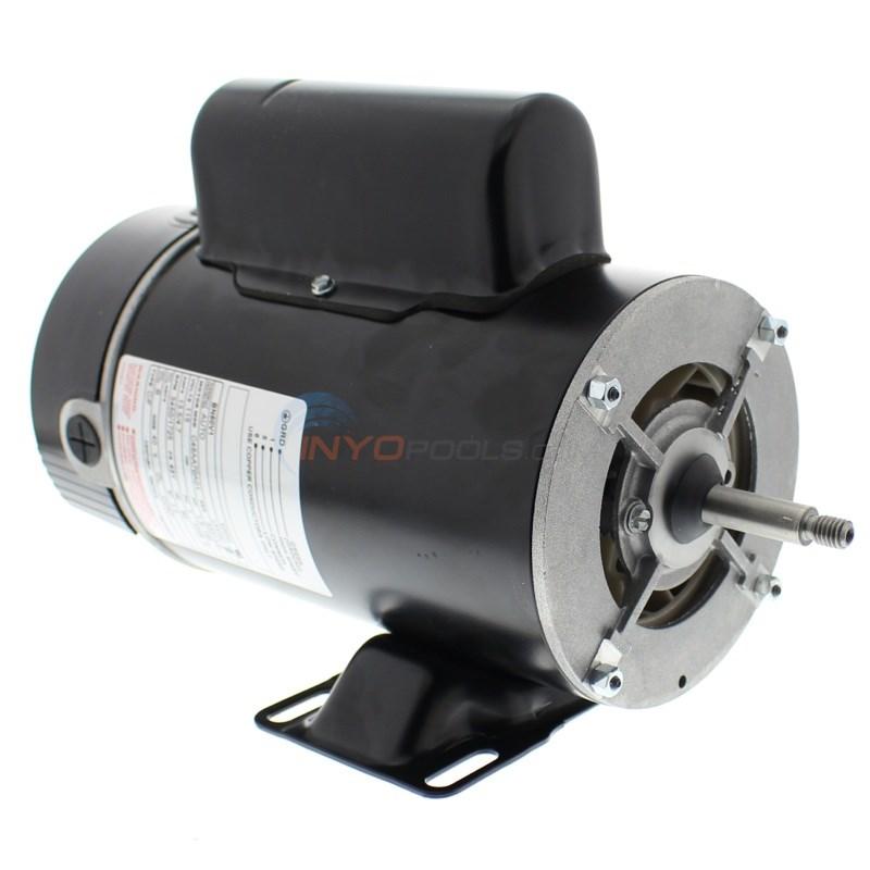 A.O. Smith 1.5 HP Thru-Bolt 48Y Dual Speed Motor - BN50V1