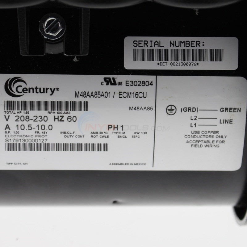 century ecm16cu 4?format=jpg&scale=both&anchor=middlecenter&autorotate=true&mode=pad&width=650&height=650 a o smith 1 65 hp variable speed pool pump motor round flange  at reclaimingppi.co