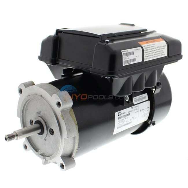 A.O. Smith V-Green 1.65 HP Round Flange 56J Variable Speed Motor - ECM16CU