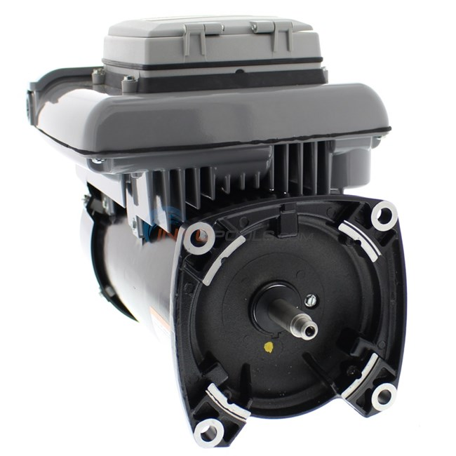 A o smith 2 7 hp variable speed pool pump motor square for Square flange pool pump motor