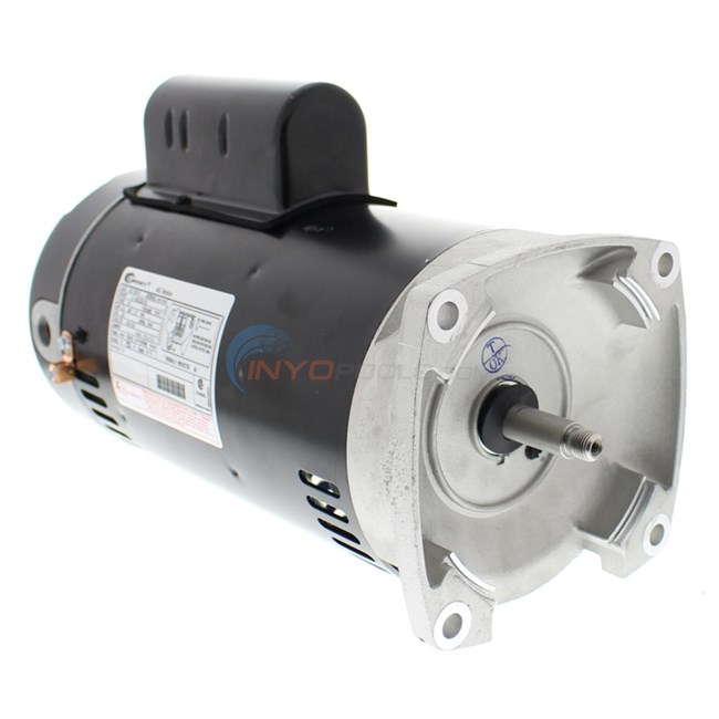 A o smith 3 h p square flange motor sq1302v1 for Square flange pool pump motor