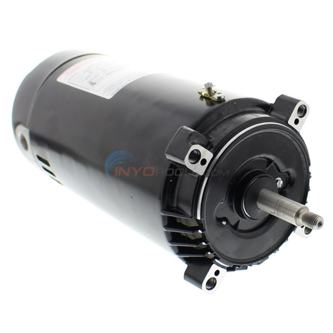 A o smith 1 hp full rate round flange motor st1102 for Ao smith pump motors
