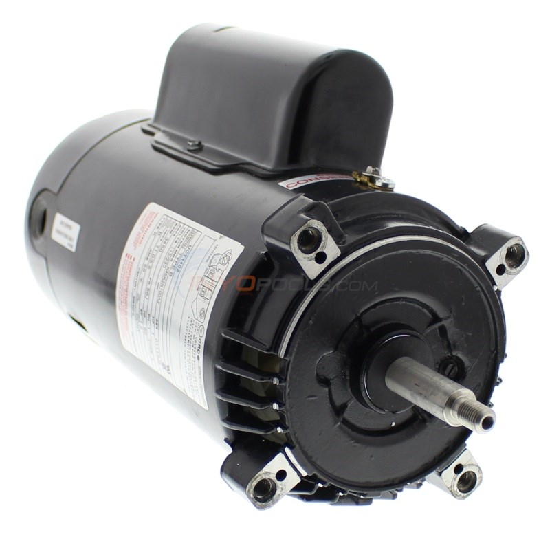 A.O. Smith 1 H.P Pool Motor Energy Efficient Round Flange - UCT1102
