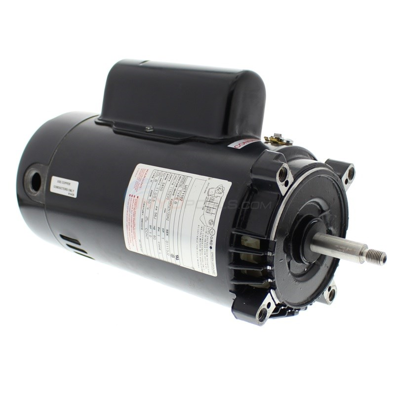 A.O. Smith 1 HP Energy Efficient Round Flange Up Rate Motor