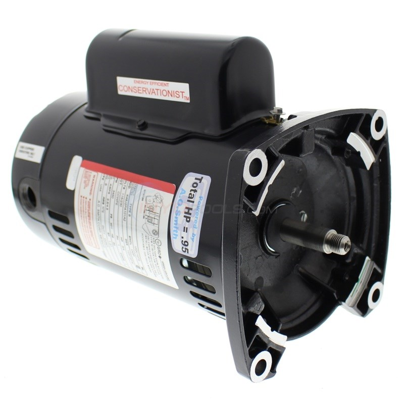 Energy Efficient A.O. Smith 3/4 H.P Square Flange Up Rate Motor - UQC1072