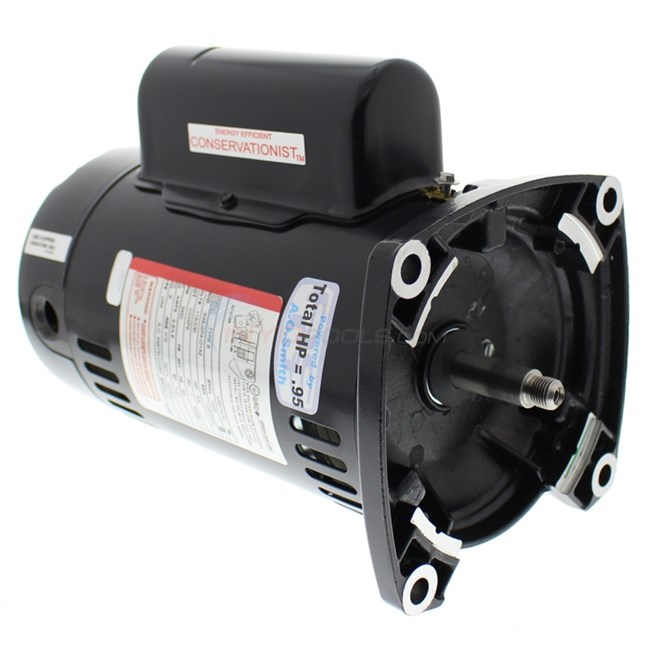 A.O. Smith Century 3/4 HP Square Flange 48Y Up Rate EE Motor - UQC1072