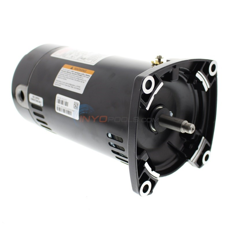 A.O. Smith 3/4 HP Square Flange Up Rate Motor