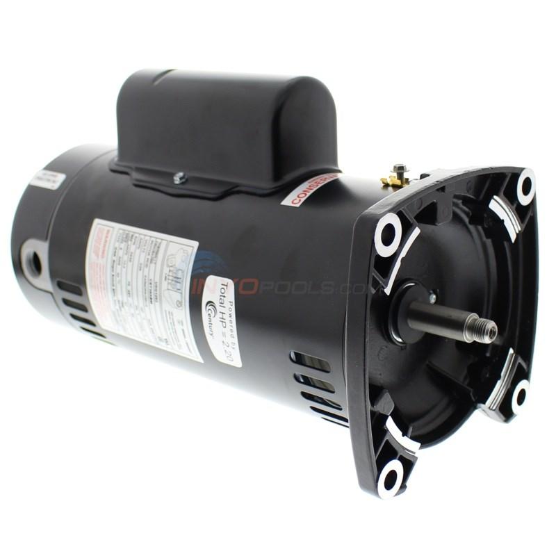 UQC1102 CENTURY Pump Motor,1 HP,3450,115//230 V,48Y,ODP
