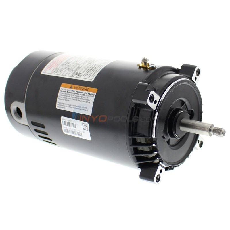 A.O. Smith Round Flange 3/4 HP Up Rate Motor