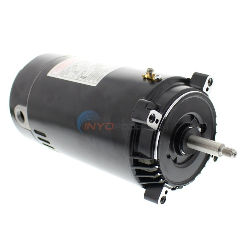 A.O. Smith 1 HP Round Flange Up Rate Motor