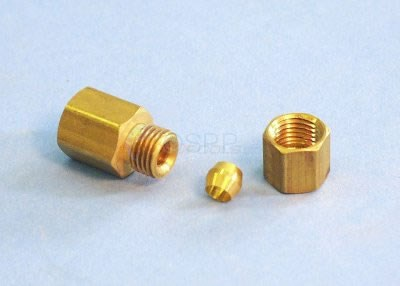 "Fitting, Brass, 1/8""FPT x 3/16""Tube - CF-31618"