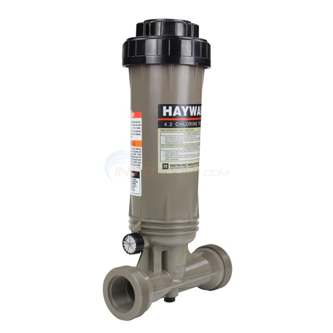 Inline Hayward Chlorinator 4 2 lb Capacity - CL100