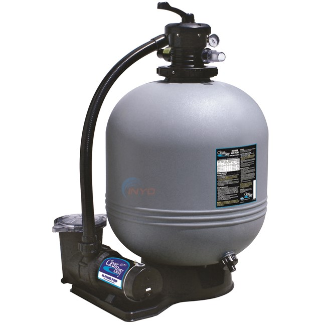 Waterway Carefree 16 Quot Sand Filter Amp 1 Hp Single Speed Pump