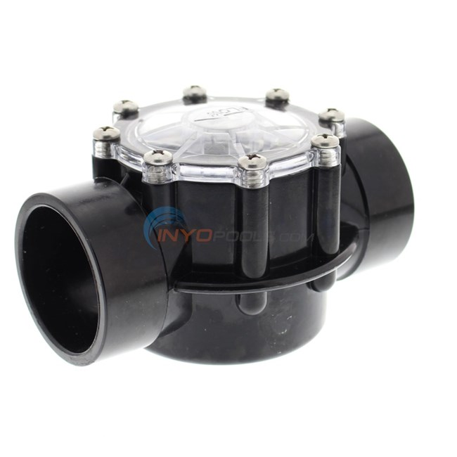 "Custom Molded Products CMP Check Valve 2"" Inside 2-1/2"" Outside 2 Lb. Spring - 25830-714-000"