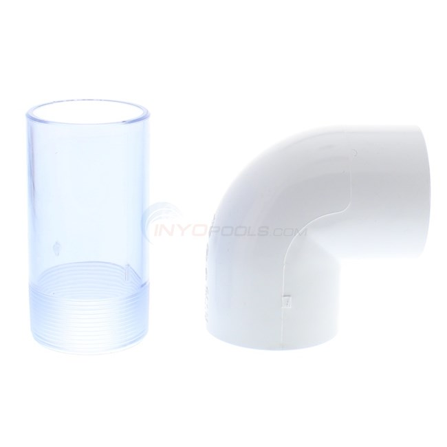 "Custom Molded Products Generic Pentair 2"" Slide Valve for DE & Sand Filters Cream - 25831-119-750"