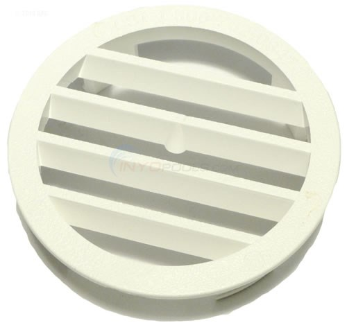 """LEAFTRAPPER CONCRETE WALL FITTING GRATE, WHITE"""