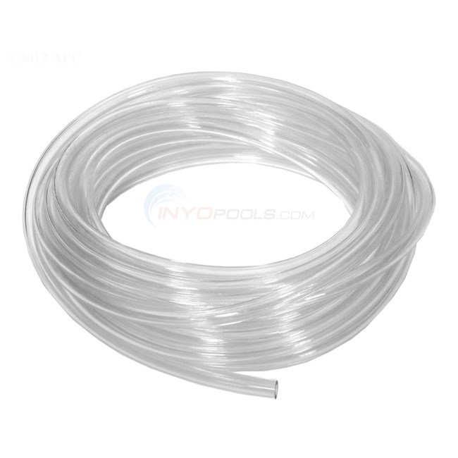 "Del Ozone Tubing, Clear PVC, 3/16""ID x 5/16""OD (per foot)...Standard Ozone supply Tubing for portables (ZO-151 - 7-0723"