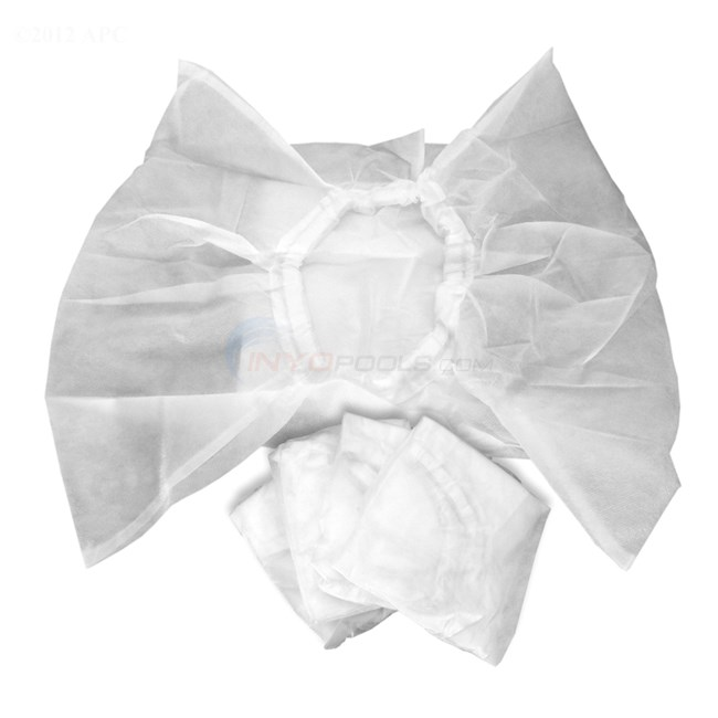 Robotic Pool Cleaner Disposable Filter Bags (5-pack) - NE281