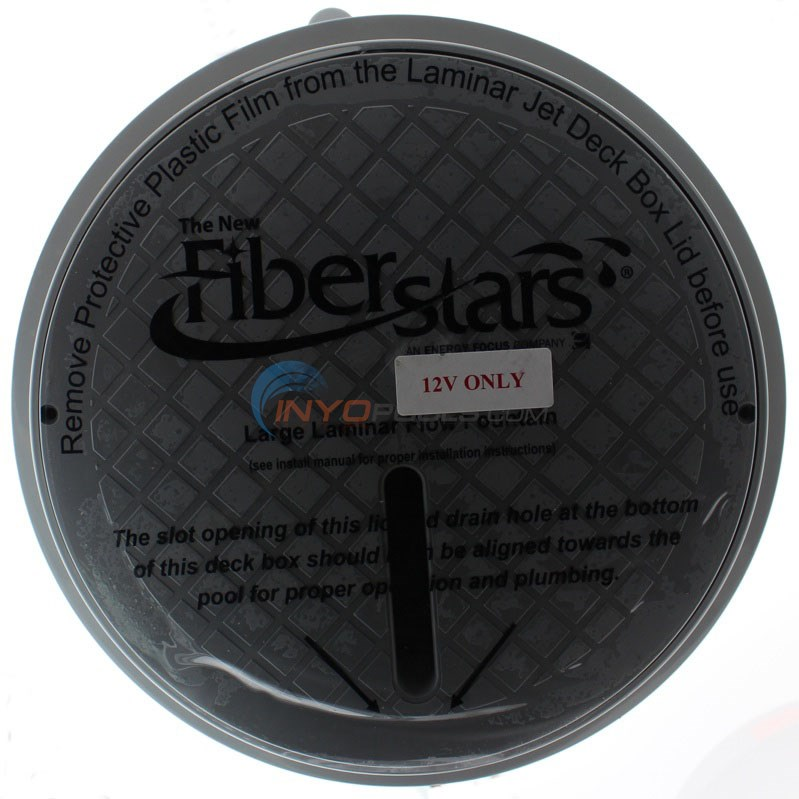 Fiberstars Light Streams Large Laminar - Includes Deck Box and LED Light Driver - COLOR Changing - CLSLL