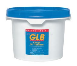 "GLB LARGE 3"" TRICHLOR TABLETS 25LB. 4 Pack - 71234-4"