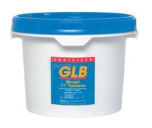 "GLB SMALL 1"" TABS 2LB TRICHLOR 4 Pack - 71250-4"