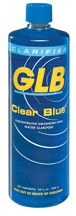 GLB CLEAR BLUE 32OZ. 4 Pack - 71404-4