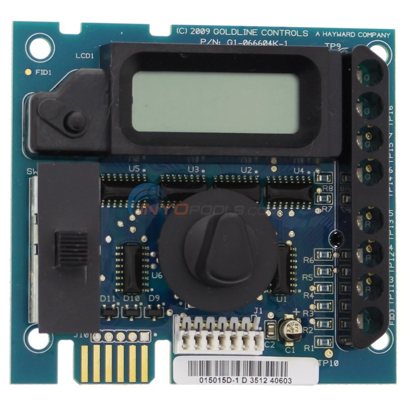 DISPLAY PCB, AQUA TROL