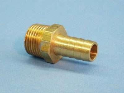 "Fitting, Brass 1/2""HB x 1/2""MPT - H48-8-8"