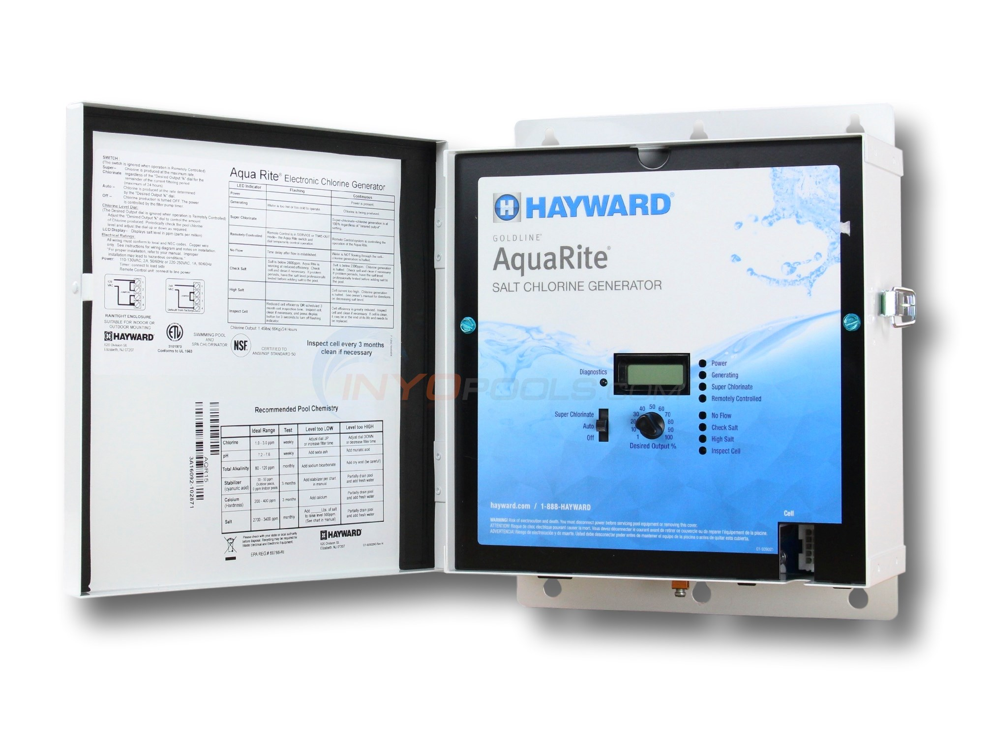 Goldline Controls Aquarite 40K - AQR15