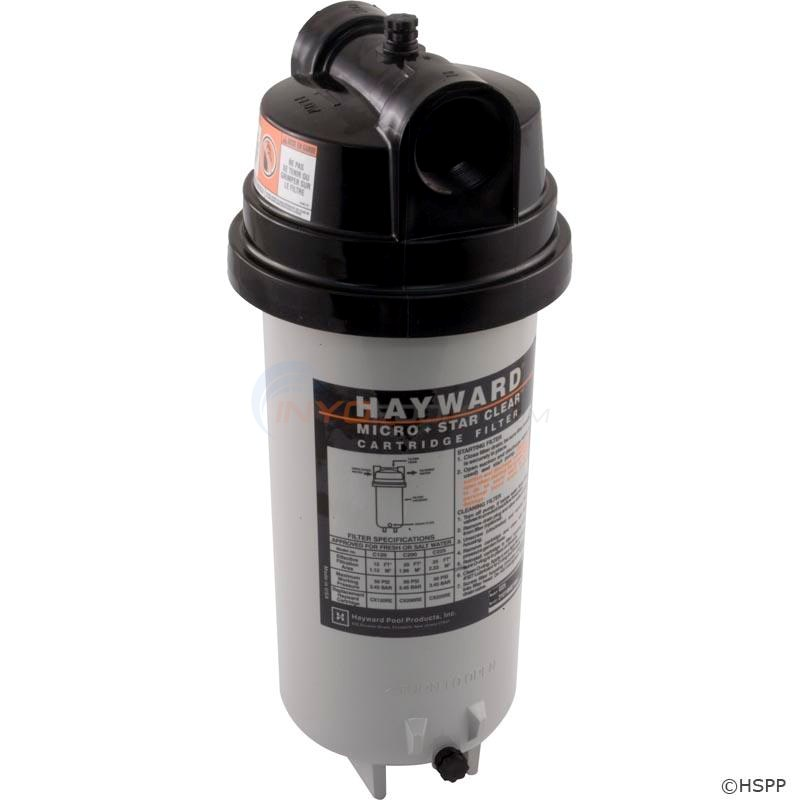 Hayward Star Clear Cartridge Filter 25 Sq Ft 1-1/2 Inch Ports - C225
