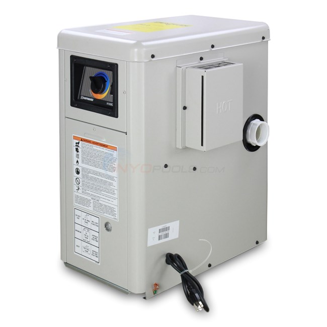 Hayward a g pool heater 100000 btu ng ele h100id1 for Heat pump vs gas heaters for swimming pool reviews