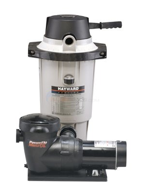 Hayward 1HP Pump W/ Perflex EC40 DE Filter - EC4075XEH