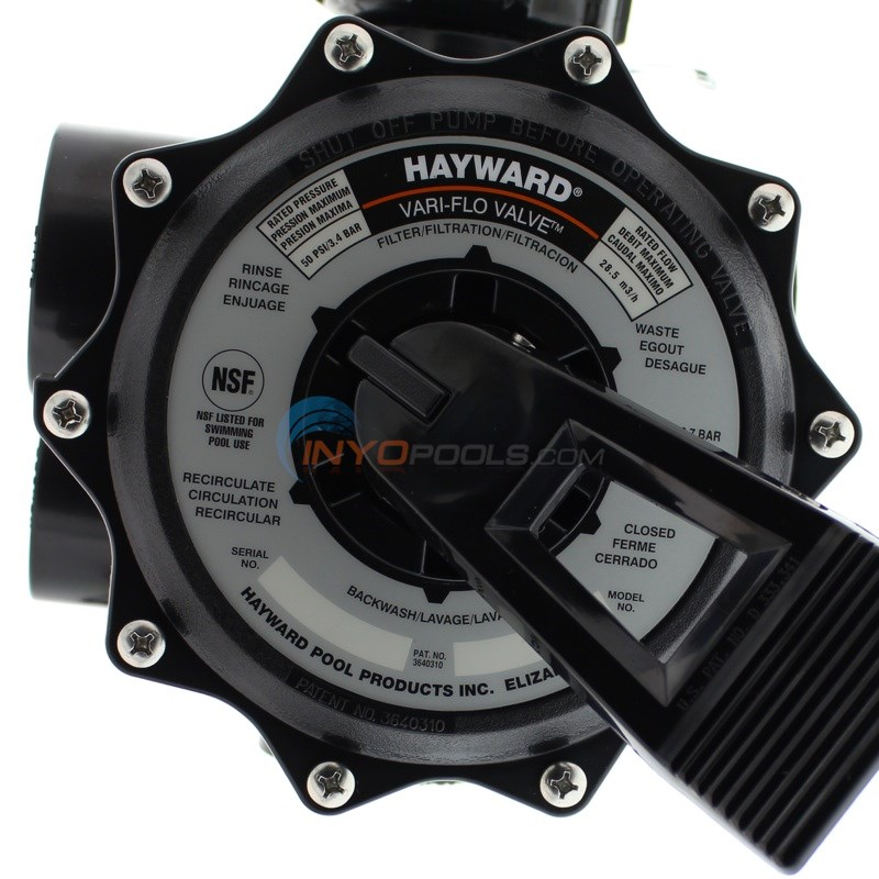 "Hayward Side Mount 2"" Valve for Sand - SP0715X62"