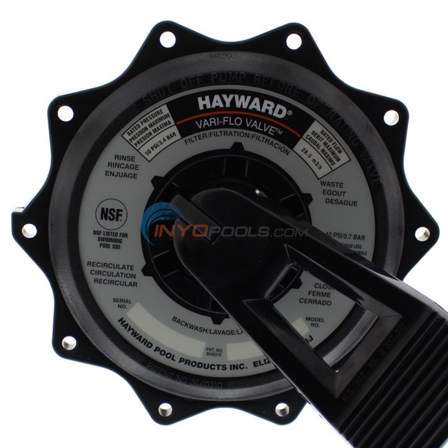 Hayward Key Cover Amp Handle Assembly 2 Quot Black Spx0715ba3