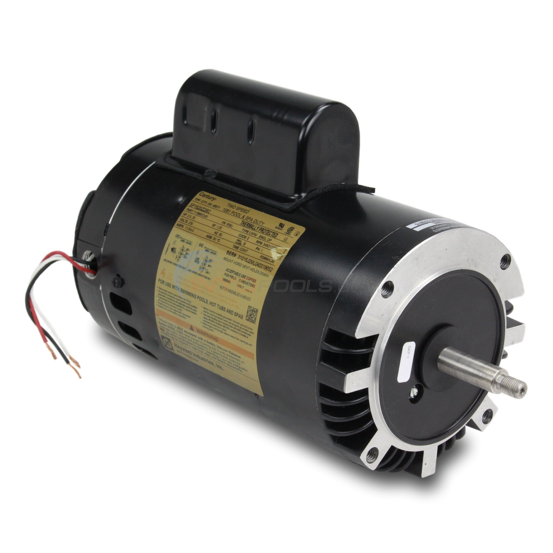Hayward 2hp 230v 2-Speed Uprated NorthStar Motor - SPX1615Z2MNS