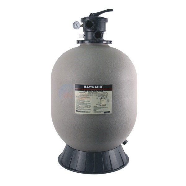 Sand Filter with Top Mount Valve 24 Inch Tank