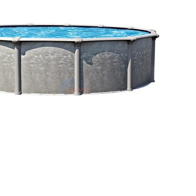 Wilbar Heritage 18 39 Round 52 Hybrid Above Ground Pool Skimmer Included Pher1852rspsrh1
