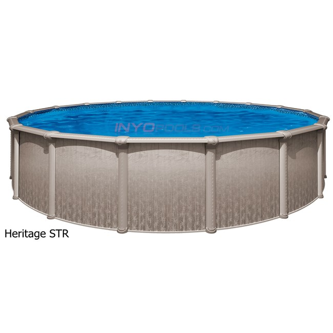 Wilbar Heritage 15 39 X 26 39 Oval 54 Steel Above Ground Pool Skimmer Included